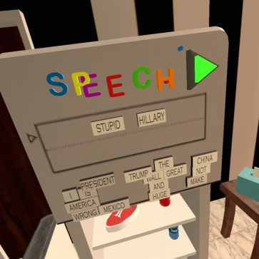Trump Simulator VR Speech