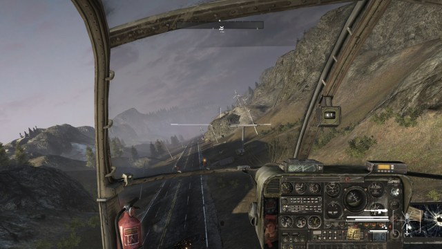 Homefront Helicopter Mission