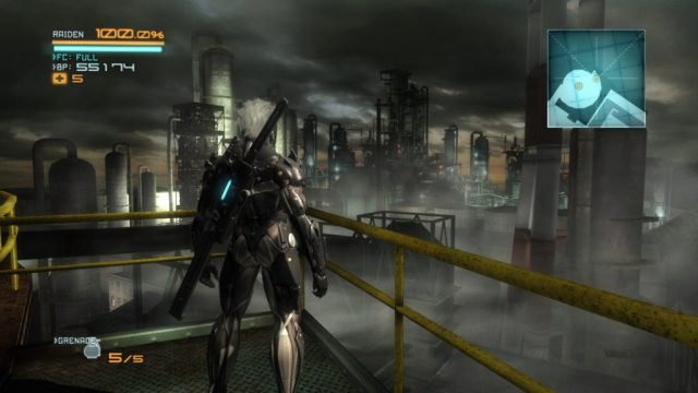 Metal Gear Rising Revengeance Enviornment