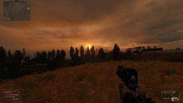 Stalker Shadow of Chernobyl Sunset