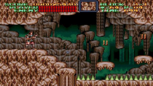Super Castlevania IV Cavern
