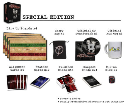 Deadly Premonition Board Game Special Edition
