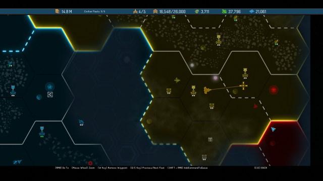 Starpoint Gemini Warlords Map