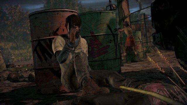 The Walking Dead A New Frontier Fight