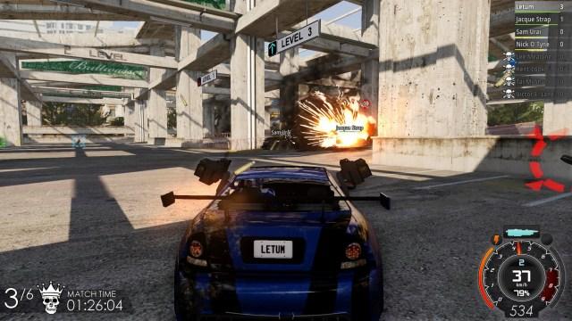 Gas Guzzlers Extreme Rocket