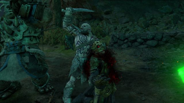 Middle Earth Shadow of War Execution