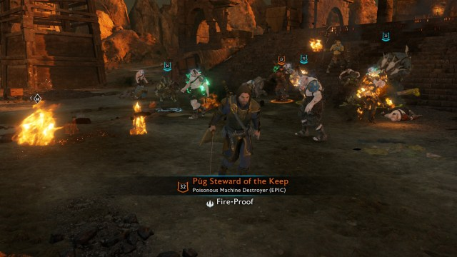 Middle Earth Shadow of War Fight
