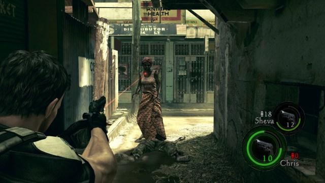 Resident Evil 5 Black