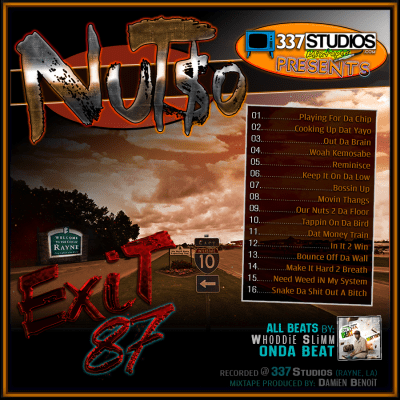 Nut$o - Exit 87 Mixtape Album Cover