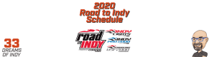 2020 Road to Indy Schedule