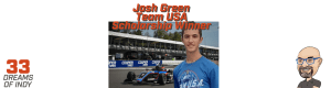 Josh Green Team USA Scholarship winner - USF2000 Driver