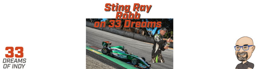 Sting Ray Robb Juncos Racing on 33 Dreams of Indy
