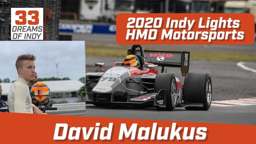 David Malukus on the 33 Dreams of Indy Podcast