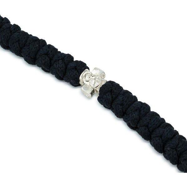 Magnificent 100 Knot Black Prayer Necklace