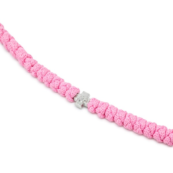 Staggering 100 Knot Rose Prayer Necklace