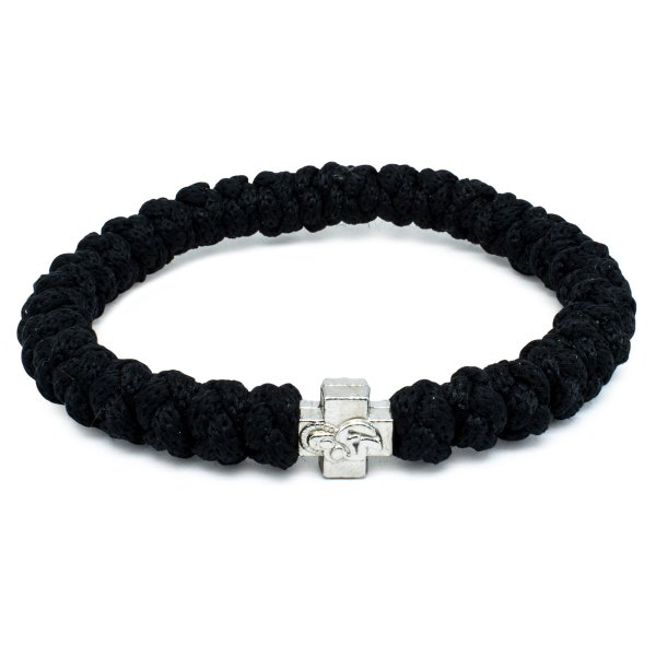 Black Prayer Rope Bracelet-0