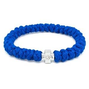 Blue Prayer Rope Bracelet-0