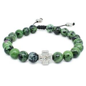 Ruby Zoist Stone Orthodox Bracelet-0
