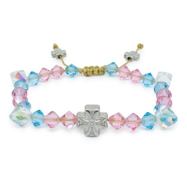 "Swarovski Crystal Orthodox Bracelet ""Lara"" made with genuine Swarovski Crystal Beads"