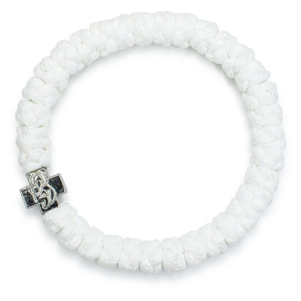 White Prayer Rope Bracelet-102