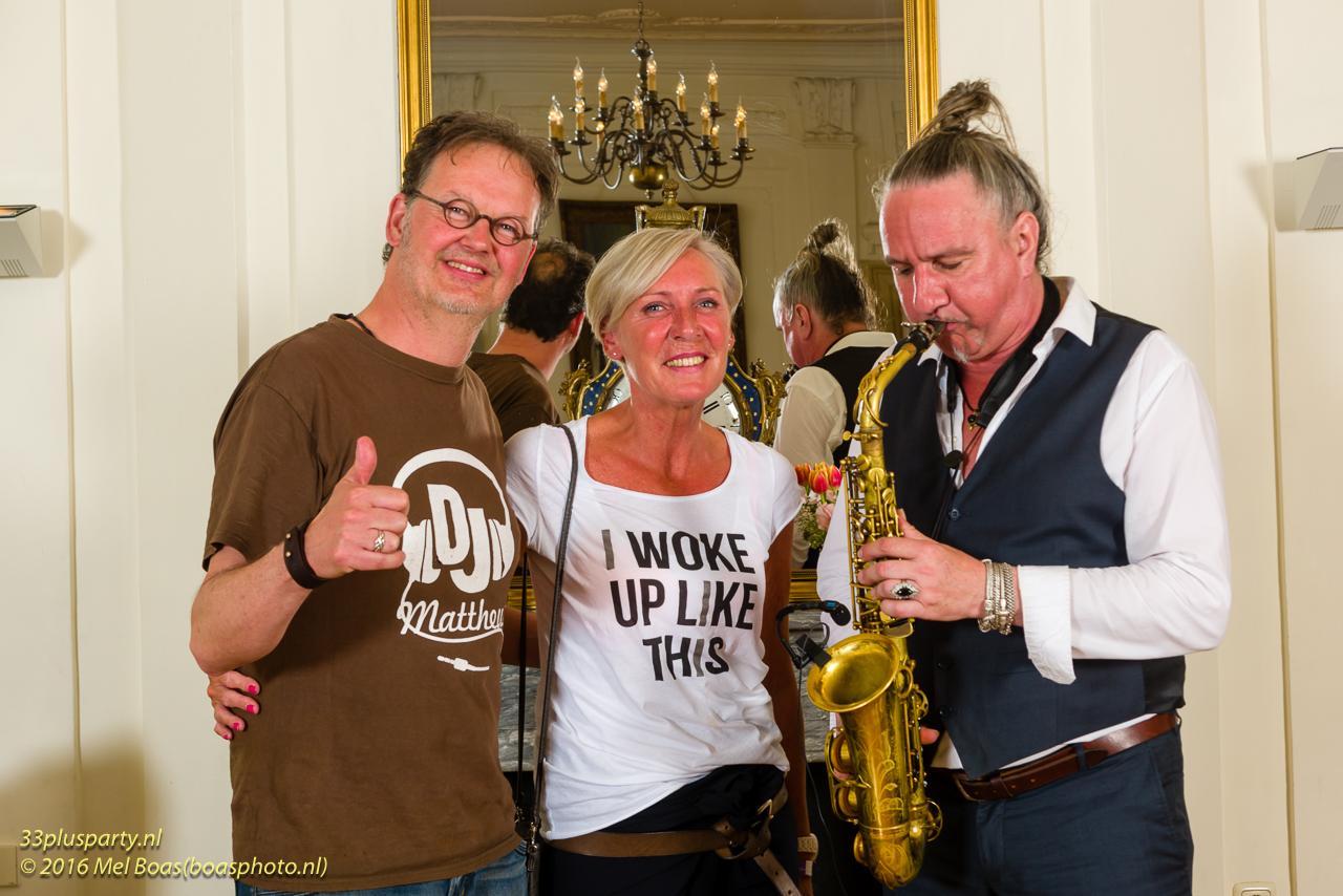 Het was een gezellig 33plus Party in het mooie kasteel Hoekelum in Bennkom