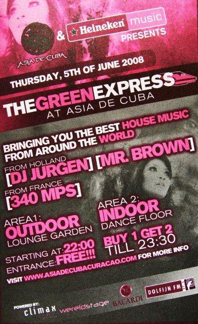 Green Express at Asia de Cuba