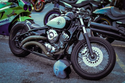 Lucky 13 custom Bobber