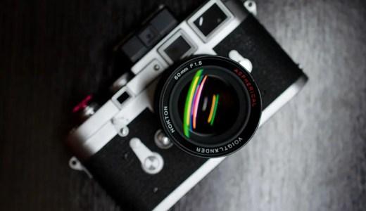 Voigtlander Nokton f/1.5 50mm