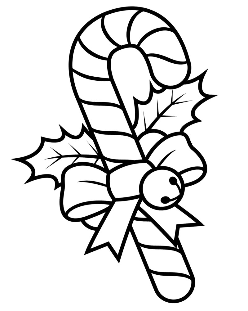 candy cane coloring pages  3coloringpages