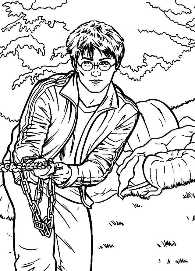Harry Potter Coloring Pages  27ColoringPages