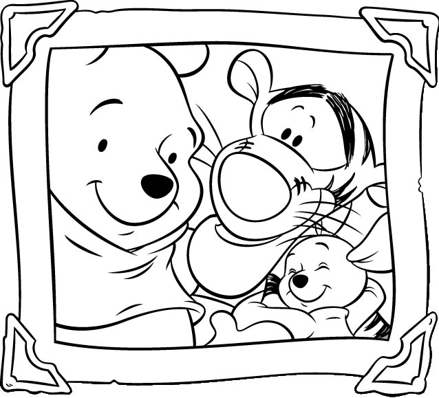 Winnie The Pooh Coloring Pages 360coloringpages