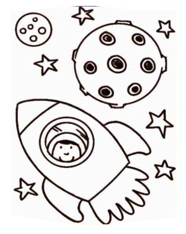 rocket ship coloring pages # 35