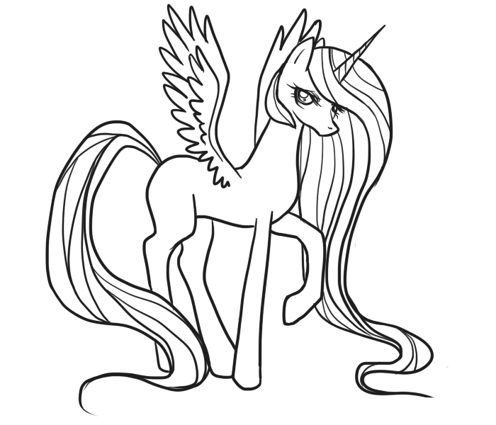 my little pony coloring pages  3coloringpages