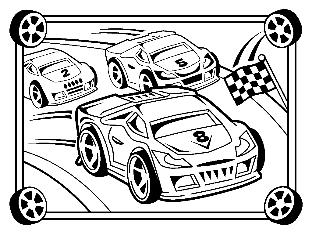 Race Car Driver Coloring Sheet Printable Coloring Pages