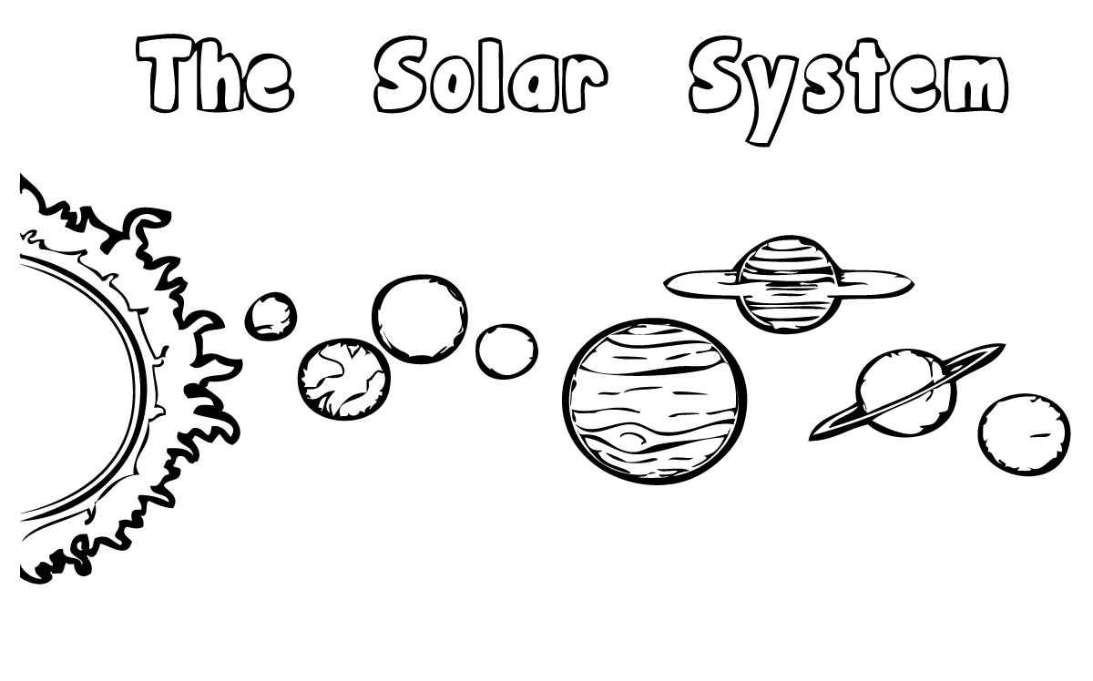 Solar System Coloring Pages 360coloringpages