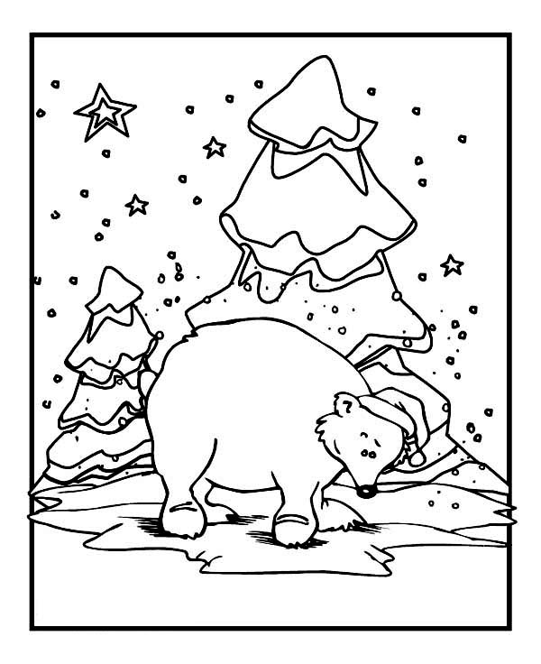 Animals In Winter Printable Worksheets Sketch Coloring Page | coloring sheets winter animals