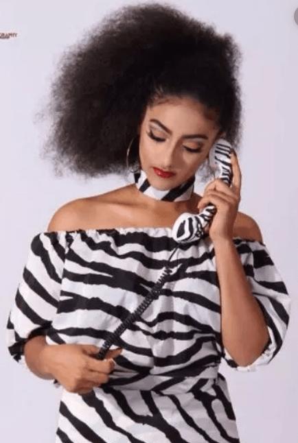 Sophie Alakija Natural Hair