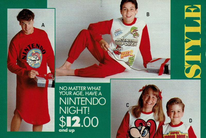 Bury Me In These 1980s Nintendo Pyjamas 1