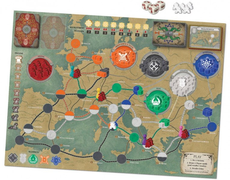 Top Of The Table – Pandemic: Fall of Rome 1