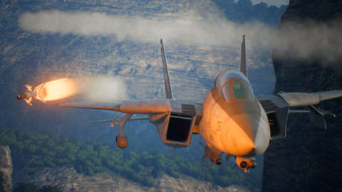 Storm Attack In The Valley - Ace Combat 7: Skies Unknown Gameplay 1