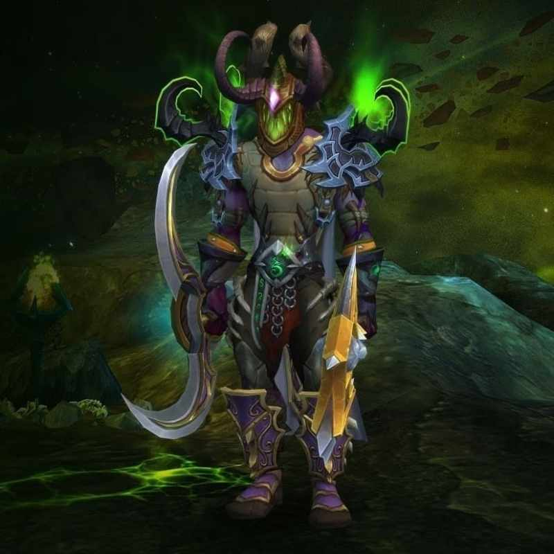 He temp-mained for me during Legion; I owe him - he basically got me Pathfinder 1