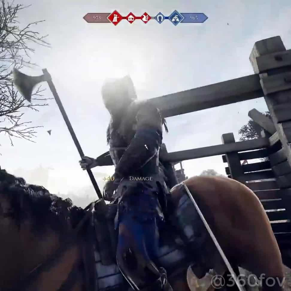 - *WARNING* BLOOD, GUTS & YELLING MEN - A minute of absolute chaos from Mordhau...