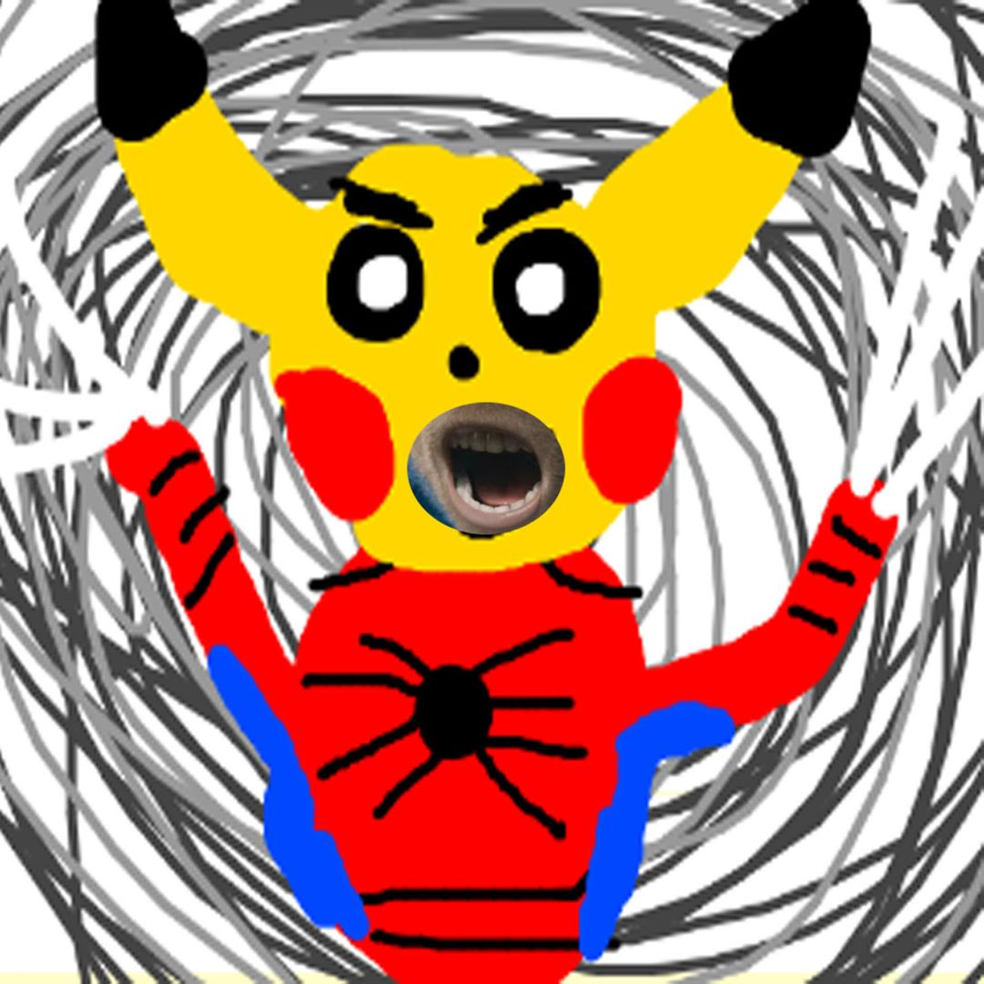 okie dokie does this count? I butchered a pika peter parker and even gave him s... 2