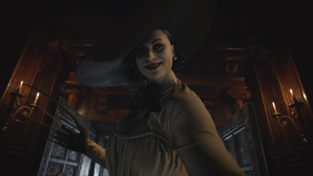 Resident Evil 8 The Village Screens, 3D Models and Fan Art 19 lady dimitrescu, lady dimitrescu cosplay, lady dimitrescu hot, resident evil 8