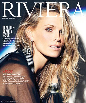 Say Om! published in Riviera Magazine