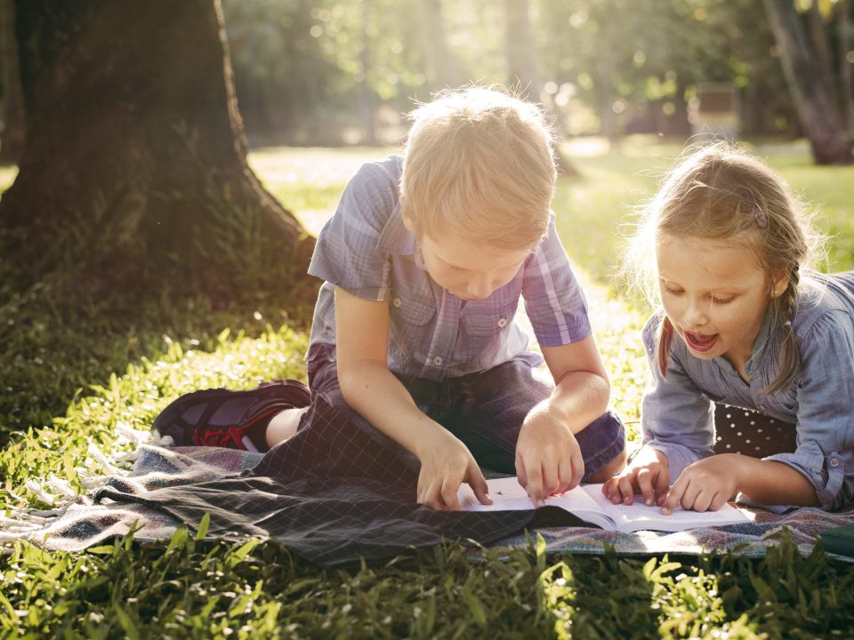get your kids outside this spring