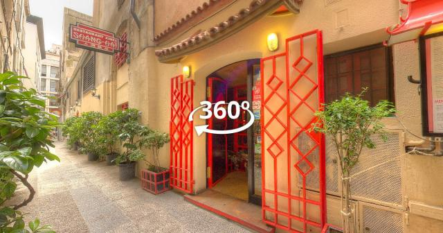 Visita Virtual al restaurante Shang Haï.
