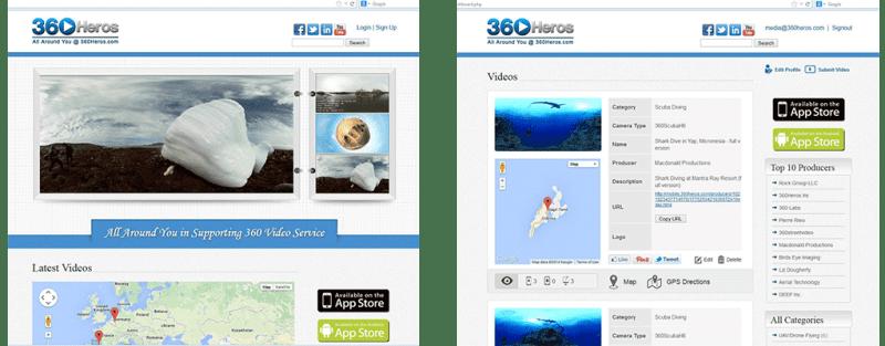 360Heros Hosting Site