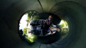 360 video allowed Onion Creek Productions to utilize a new perspective.