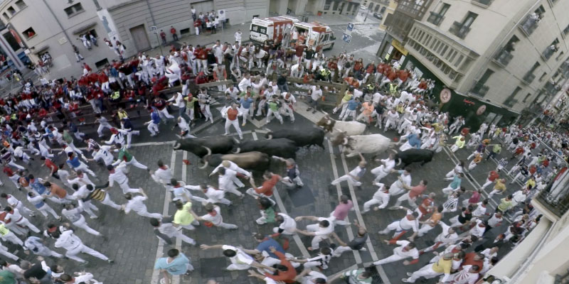 Opabinia Films captured The Running of the Bulls with the 360Heros H3Pro7.